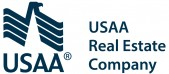 USAA RealCo Logo_BLUE-PMS 2965_Side Stacked